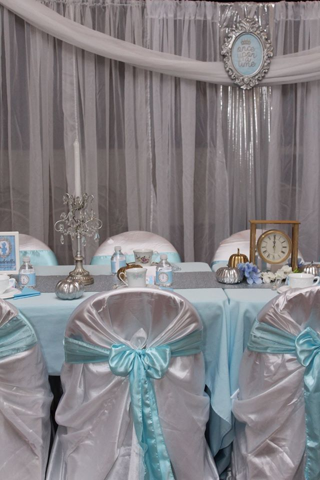 Cinderella Birthday Party Decor